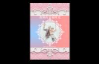 【许你一生一世的爱恋】图文可改-8x12印刷单面水晶照片书21p