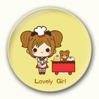 可爱女孩-4.4个性徽章