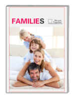 My Families 我们一家(全家福) 高档原创欧美经典精品自由DIY-A4杂志册(32P)