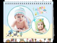 Happy Baby-快乐宝贝-8寸双面印刷台历