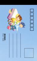 快乐宝贝-全景明信片(竖款)套装