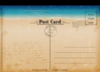 复古明信片-全景明信片(横款)套装