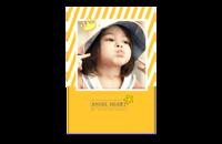 心爱小天使-亲子-宝贝-童年成长-8x12印刷单面水晶照片书20p