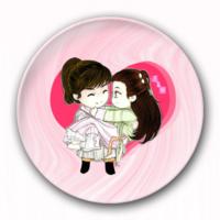 卡通个性徽章 冰箱贴-4.4个性徽章