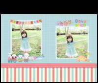 HAPPY BABY书写幸福宝贝物语-15寸硬壳蝴蝶装照片书24p