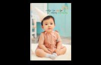 韩式幸运宝贝成长记-8x12印刷单面水晶照片书20p