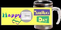 教师节快乐-不锈钢变色杯