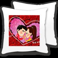 甜蜜爱人-情侣抱枕