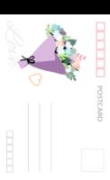 浪漫的爱情 爱的花嫁 美丽的婚礼3-全景明信片(竖款)套装