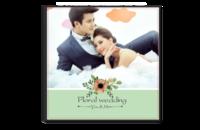 花嫁新娘-小清新-情侣-爱情-韩式婚纱摄影-8x8单面银盐水晶照片书20p