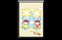 快乐童年,幸福回忆-8x12单面银盐水晶照片书