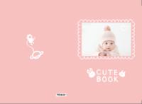 小兔子乖乖可爱书-A3硬壳蝴蝶装照片书32p