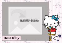 kitty控-彩边拍立得横款(6张P)