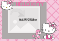 HELLO KITTY(精选集)-彩边拍立得横款(6张P)