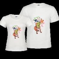 疯狂动物城修身情侣装纯棉T恤-修身情侣装纯棉T恤