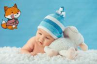 幸福宝宝-24寸木版画横款