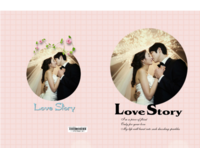 爱情故事-硬壳精装照片书30p(亮膜)