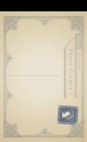 典雅复古明信片-全景明信片(竖款)套装