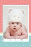 可爱小萌娃 超级小宝贝甜心宝宝 七彩童年-8x12双面水晶印刷照片书22p