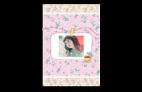 【简绘の粉花屋】萌娃美食可爱秀-8x12印刷单面水晶照片书21p