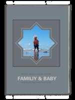 FAMILIY&BABY家有宝贝(亲子家庭纪念册) 高档原创欧美经典精品自由DIY-A4杂志册(42P)