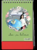 文艺 台历 生活旅行 纪念册-8寸竖款单面台历