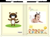 宝贝的小小童年-硬壳精装照片书20p