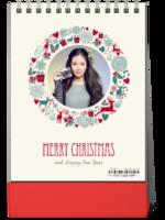 圣诞节快乐-8寸竖款单面台历