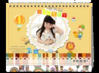 宝贝的幸福童年(首图可换)-8寸单面印刷台历