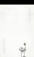中国风水墨写意祝福-全景明信片(竖款)套装