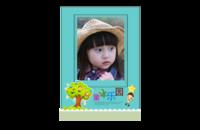 童年乐园-可爱宝贝亲子相册 成长纪念册  文字照片可更换-8x12印刷单面水晶照片书21p
