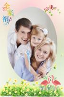 全家福(儿童全家福)-8x12双面水晶印刷照片书22p