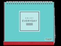 幸福每一天-文艺小清新(写真亲子爱情旅行)-10寸单面印刷台历