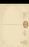怀旧明信片系列12-全景明信片(竖款)套装