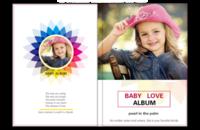 Baby Love 宝贝之爱(亲子纪念册) 高档原创欧美经典精品自由DIY-8x12照片书