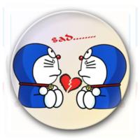 多啦A梦-4.4个性徽章