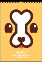 可爱卡通狗狗-(微商)挂历(A3双月挂历)