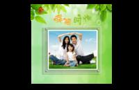 幸福时光(通用模板,适用于亲子、全家福、爱情)-8x8印刷单面水晶照片书21P