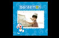 哆啦A梦-8x8印刷单面水晶照片书
