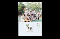 青春-8x12印刷单面水晶照片书21p