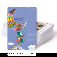 beautiful world 童年时光-双面定制扑克牌