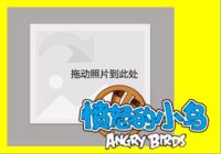 【愤怒的小鸟】-彩边拍立得横款(18张P)