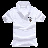 豹-男款纯色POLO衫