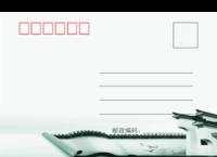 唯美中国风明信片-全景明信片(横款)套装