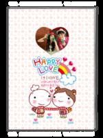 快乐爱情-韩国可爱卡通-A4杂志册(42P)