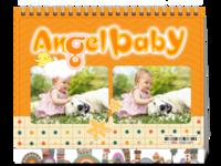 可爱小熊记录欢乐宝宝的快乐点滴-8寸双面印刷台历