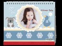 可爱梦幻童话世界(写真亲子旅行爱情)首图可换-10寸双面印刷台历