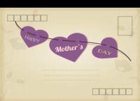 母亲节快乐-全景明信片(横款)套装