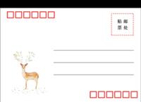 小清新明信片-全景明信片(横款)套装