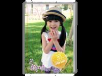 宝宝之我的成长日记写真册(封面照片可替换)-A4时尚杂志册(26p)